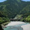 十津川村の上流域は自然の宝庫