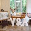 【結婚式当日レポ17】披露宴会場装飾*テーブルコーディネイト・気になる花のお値段も!
