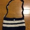ダイソーのジュートヤーンで手作り子供用ポシェット〜意地で1日で編み上げたぞ編