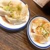 【グルメ】水餃子と辛味噌餃子(^^)