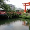 京都 真夏の岡崎で疎水と鳥居のある風景を楽しむ!