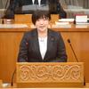 7日、大橋県議が初の代表質問で知事に迫る。