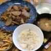 大根と豚肉の炒め煮・お酢が食欲をそそる春雨サラダ