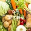 5月の旬の野菜