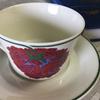 2010年に廃盤 アラビア / イリュージア コーヒーカップ&ソーサーデコレートデザインはなんと日本人の石本藤雄(Fujiwo Ishimoto)です。