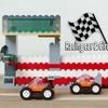 レゴ:レーシングカーとサーキットセットの作り方 LEGOクラシック10715だけで作ったよ(オリジナル)