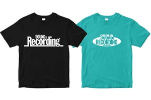 サンレコ・オフィシャルTシャツに旧ロゴ・バージョンが追加