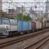 10月18日撮影 東海道線 平塚~大磯間 今日は少しだけ撮影 貨物列車2本 1097レ 2079レ