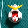 HGUC V2アサルトバスターガンダム 【製作記3:顔の後ハメ加工】