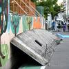大阪北部地震で倒壊した寿栄小学校のブロック塀は40年以上にも渡って違法状態だった!これは天災じゃなくて人災だろwww