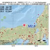2016年08月30日 00時11分 京都府沖でM2.8の地震