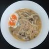ホットクック 試作レシピ スープパスタコースで冷凍うどんを使って、きのこツナうどん(1人分)