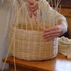籐編み    Korbflechten der 9.Klasse