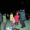 中央公民館主催の「冬の星空観望会」が実施されました