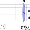 神秘和音のTAB譜を紹介します