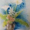 2019年:5月『5月の花を描く ー カラーとホタルブクロ』