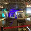 黄浦江を渡す外灘観光隧道はまるで遊園地! @ 上海