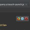 pycharmで編集中のhtmlファイルをchromeで開く