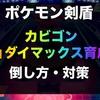 【ポケモン剣盾】カビゴン(キョダイマックス)育成論・種族値・倒し方