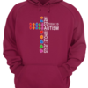 Charming Autism Awareness all i need today is a little bit of autism and a whole lot of jesus shirt
