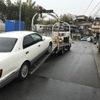 長泉町からレッカー車で車検が切れた故障車を廃車の出張引き取りしました。