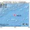 2016年11月03日 17時50分 南海道南方沖でM3.6の地震