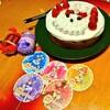 ホールケーキとアローラ