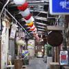福岡市中央区 : 三角市場 〜 博多区 : 住吉の町並み