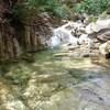 元越谷 春の渓をのんびり遡行 H24.04.15 晴れ