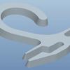パッケージフック(1型フックB)をモデリングする Creo Elements / Pro 5.0