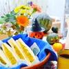 食感が楽しいカボチャサラダサンドイッチ×Weekend flower*憧れのアメリカのレシピ本