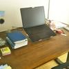 新しいノートパソコンと古いノートパソコン