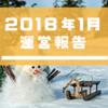 【運営報告】2018年1月、自己管理ができなかった1ヶ月