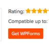 ワードプレスに問い合わせページ、WPFormsを載せました。