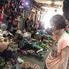 【カンボジア女子一人旅】オールドマーケットの市場は迷路?!
