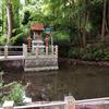 鷲林寺の弁天池(兵庫県西宮)