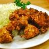 豊洲の「八千代」で鶏唐揚げ。