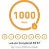 Duolingoで1000日以上継続してる話とか