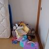 部屋が雑然としていました。その原因はふたつ。
