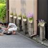 京都:路地の風景・・・昭和を想像します