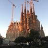2016.12バルセロナひとり旅④サグラダファミリア