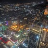 """【週末弾丸一人旅台湾編2日目⑥】""""台北101""""地上382mの展望台から台北夜景を堪能。"""