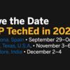 SAP TechEd 2020 開催日程 (Barcelona, Austin, Bangalore)
