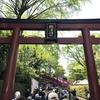 東京十社の一つ【根津神社】。千本鳥居とツツジ(つつじ)で有名。