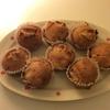 秋の味覚サツマイモのマフィン