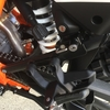 KTM1090ADV-Rとヘルメットホルダー