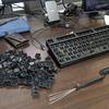 5月29日:汚いキーボードを掃除したらなんと昇天してしまったので悲しんでいたところ、新しいキーボードが生えてきたのだが