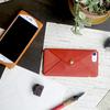シンプルに革を味わう、iPhone7レザーケース