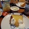 シフォンケーキの朝食と銀座のコーヒー