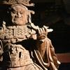東大寺/夜の大仏殿 夜陰に威容を誇る大建築。仏教に活路を見いだし大国たらんとして踏ん張った勢いがいまだにありました。